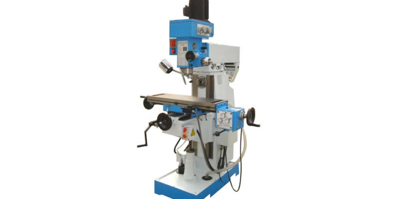 Fresadora X6323A 9 X 49 vertical, para fabricar piezas de metal