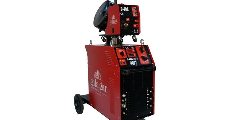 Equipo de soldadura Galagar MIG 4007 para aplicaciones de la industria