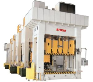 Prensa Hidráulica 350TN con sistema hidráulico modular