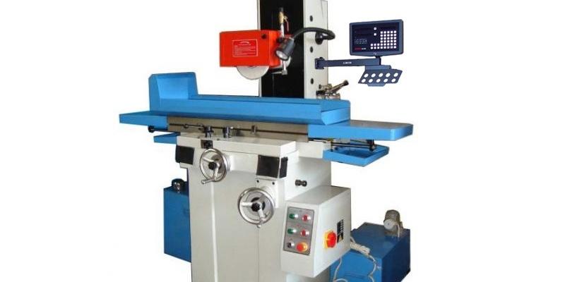 rectificadora MY820 con escalas digitales para troqueles y moldes de metal