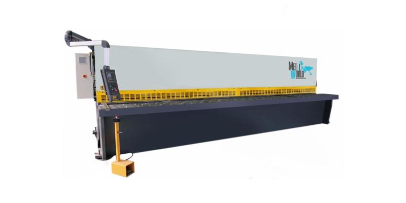 Cizallas Hidráulicas para Metal Estructura de acero soldada y distencionada en horno