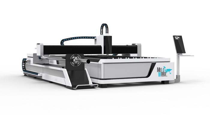 Máquina de Corte Láser de Fibra Óptica para Lámina y Tubo Combinado, alta precisión y velocidad