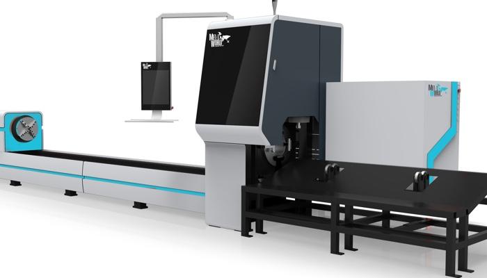 Máquina de Corte Láser de fibra óptica para Tubo Serie X, redondeado, cuadrado, rectangular y ovalado