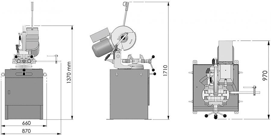 Ilrei-Teknik-I-Smart-350-sierra-de-disco-para-metal-detalle
